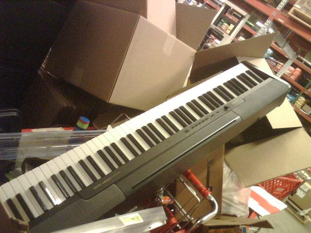 trashed keyboard
